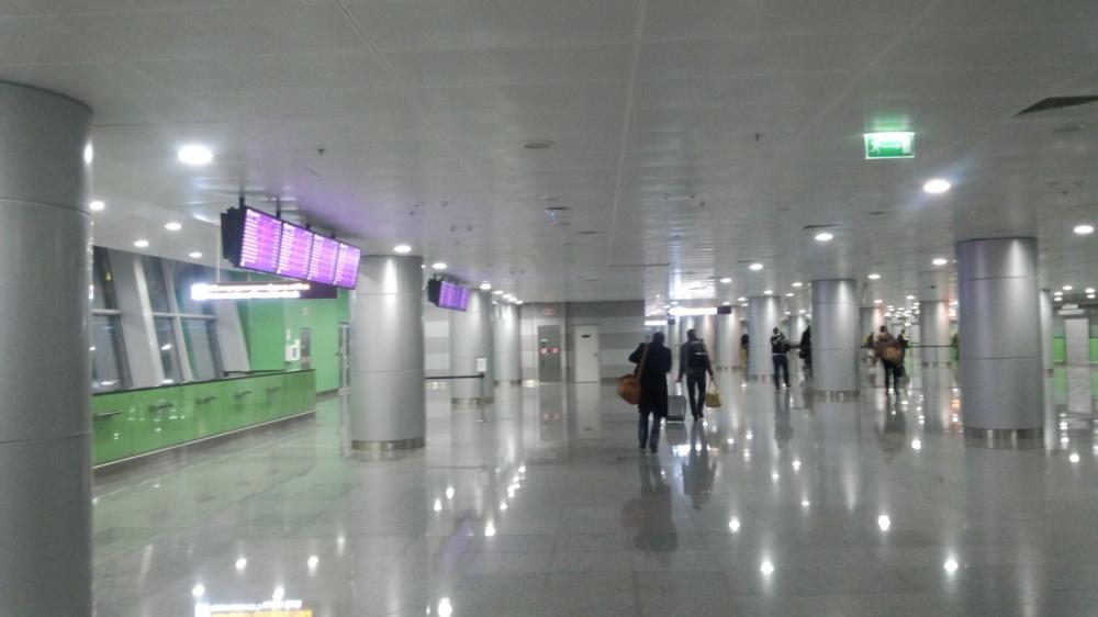 キエフのボルィースピリ国際空港