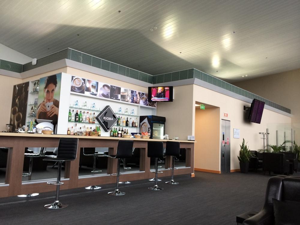 ボルィースピリ国際空港のラウンジ1