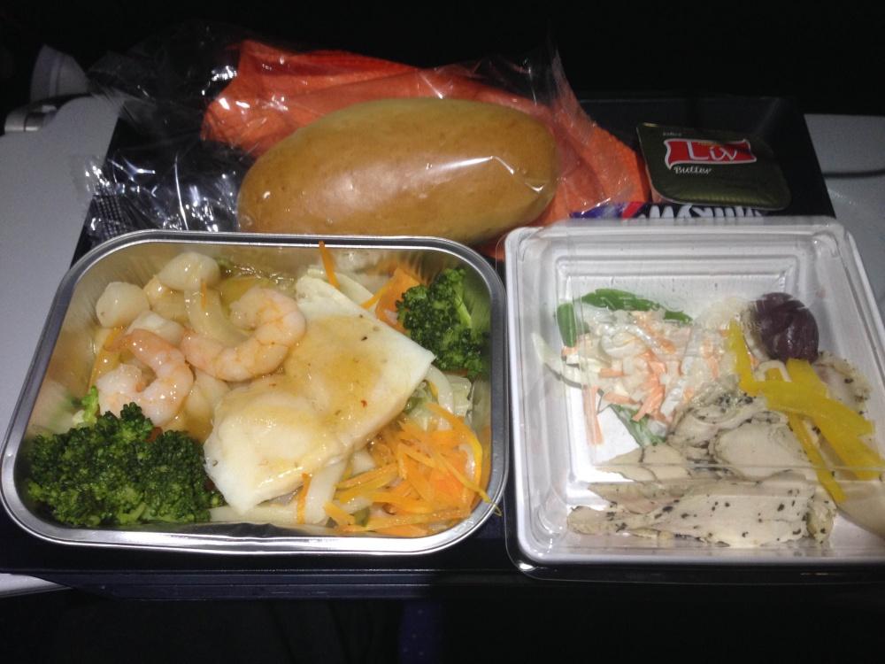 アエロフロート・ロシア航空 機内食